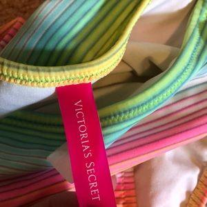 Victoria's Secret Swim - 🌈 Victorias Secret Rainbow Swim Bottom